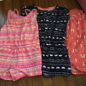 Other - Bundle of 3 girls rompers